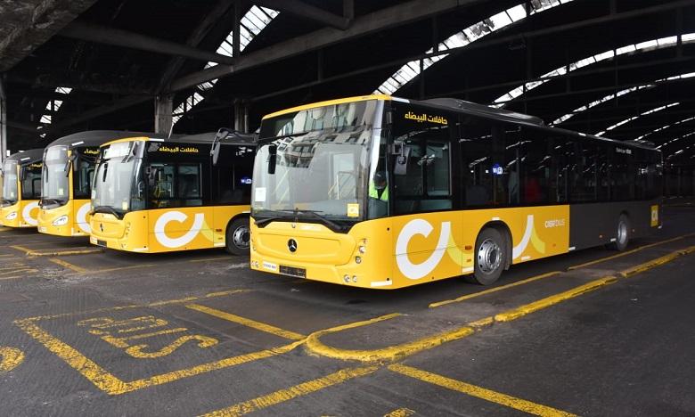 الدار البيضاء: تعديل برنامج رحلات حافلات النقل الحضري خلال شهر رمضان