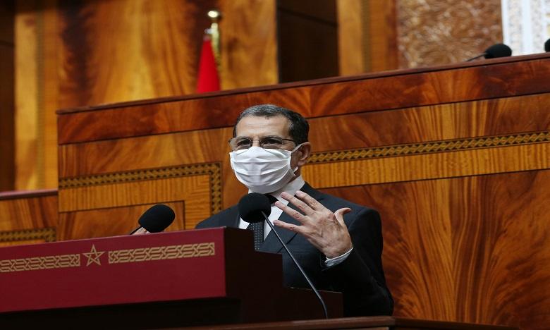رئيس الحكومة يقدم الاثنين بيانات بشأن الحالة الوبائية بالمملكة خلال جلسة عامة مشتركة بالبرلمان