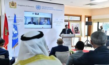افتتاح مكتب برنامج الأمم المتحدة لمكافحة الإرهاب والتدريب في إفريقيا بالرباط