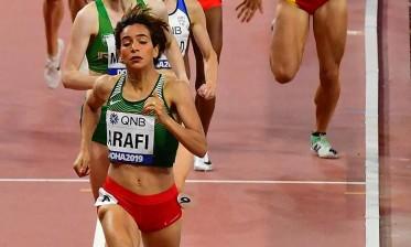 أولمبياد طوكيو: تأهل المغربية رباب العرافي إلى نصف نهاية سباق 800م