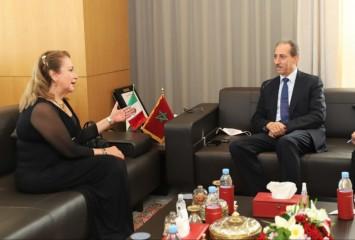 المغرب والمكسيك يبحثان سبل تعزيز التعاون القضائي
