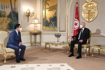 رسالة من صاحب الجلالة الملك محمد السادس إلى رئيس الجمهورية التونسية