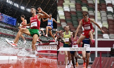 أولمبياد طوكيو: تأهل المغربيين سفيان البقالي ومحمد تيندوفت إلى نهاية سباق 3000م موانع