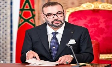 """جلالة الملك """"أدعو فخامة الرئيس الجزائري للعمل سويا في أقرب وقت يراه مناسبا على تطوير العلاقات الأخوية التي بناها شعبانا"""""""