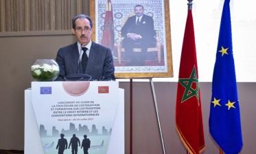 مراكش: إطلاق الدليل العملي لقضاة النيابة العامة حول تسليم المجرمين