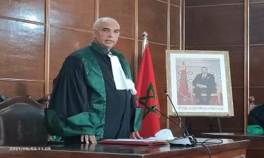 تنصيب الرئيس الأول الجديد لاستئنافية مراكش والوكيل العام للملك لديها
