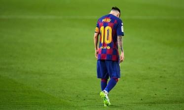 ليونيل ميسي يغادر نادي برشلونة