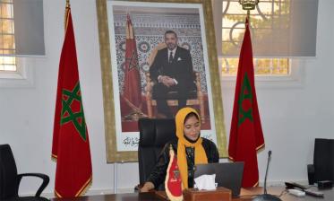 التلميذة سارة الضعيف وصيفة بطل تحدي القراءة العربي 2020