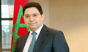 ناصر بوريطة: تحت قيادة جلالة الملك لطالما برهن المغرب عن حس ابتكاري في معالجة قضية الطاقة