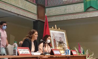 انتخاب المحامية فاطمة الزهراء المنصوري عمدة مدينة مراكش