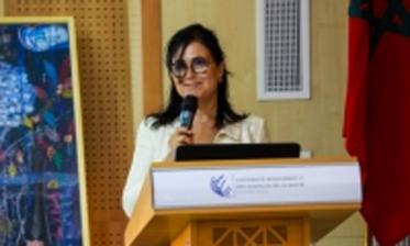 البروفيسور إحسان بن يحيى تعين أول رئيسة عربية وإفريقية للفيدرالية الدولية لطب الأسنان