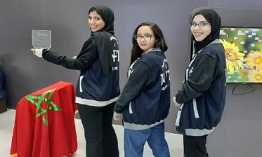 """معرض """"جيتيكس"""" بدبي: فريق مغربي من 3 طالبات يفوز بالرتبة الثانية"""