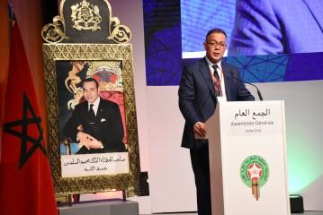 """لقجع يعد الجمهور المغربي بالفوز بـ """"كان 2019"""""""