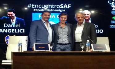 """رئيسا بوكا وريفر يجتمعان قبل """"الكلاسيكو الأرجنتيني"""""""