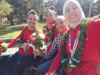 أبطال أولمبياد الشباب فخورون بتشريف المغرب