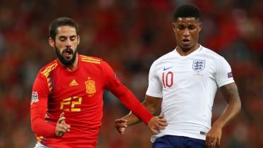 انجلترا تثأر من إسبانيا وتنعش آمالها في دوري الأمم الأوروبية