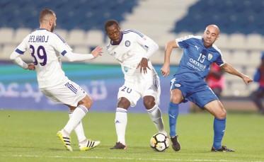 تيبركانين يحرز هدفه السابع في دوري نجوم قطر
