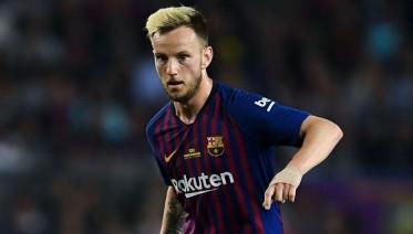 راكيتيتش  يغيب عن برشلونة بسبب الإصابة