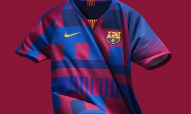 برشلونة يستعد لإصدار قميص تاريخي