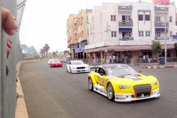 نهائي كأس العرش لسباق السيارات بمدينة العيون