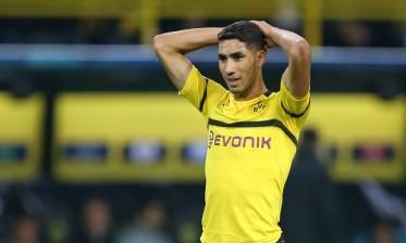 مدرب دورتموند يبعد حكيمي عن مباراة دوسلدورف
