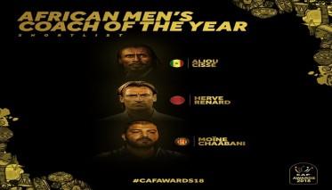 رونار ينافس على جائزة أفضل مدرب في إفريقيا