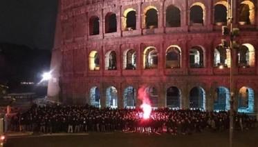 الشرطة الإيطالية تقدم على هذه الخطوة لمواجهة جمهور فرانكفورت
