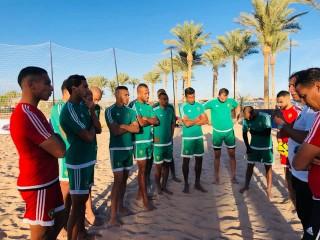 منتخب الكرة الشاطئية يواجه السنغال في نصف نهائي كأس إفريقيا