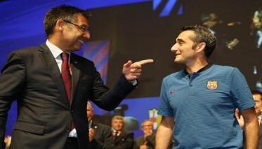 رئيس البارصا يحسم مستقبل المدرب فالفيردي