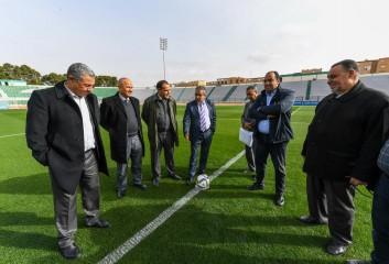 الملعب الشرفي بوجدة جاهز لاحتضان ديربي الشرق