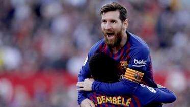 هاتريك ميسي يهدي برشلونة 3 نقاط ثمينة