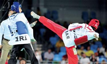 منتخب التايكواندو يواصل استعداداته لبطولة العالم