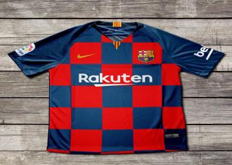 تسريب قميص برشلونة الرسمي في الموسم المقبل