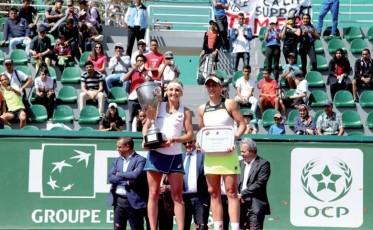 حضور متميز لأجود لاعبات التنس في جائزة الأميرة للا مريم