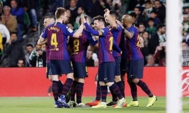برشلونة لحسم اللقب أمام ألافيس
