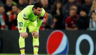 ميسي: مباراة ليفربول عصفت بموسم البارصا