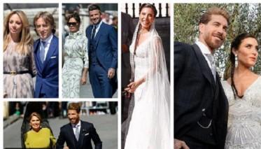 زيدان ورونالدو وبنزيمة أبرز الغائبين عن حفل زفاف راموس