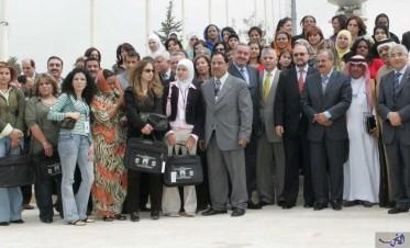 مشاركة واسعة في ملتقى الإعلاميات الرياضيات العربيات