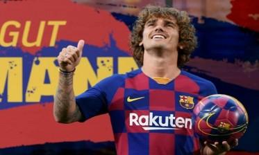 غريزمان: قلبي مع برشلونة