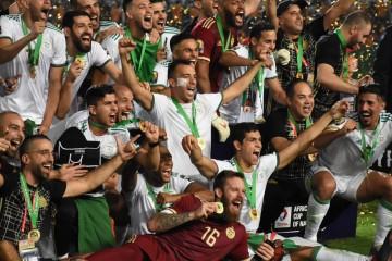 الجزائر تتوج بكأس  إفريقيا للمرة الثانية