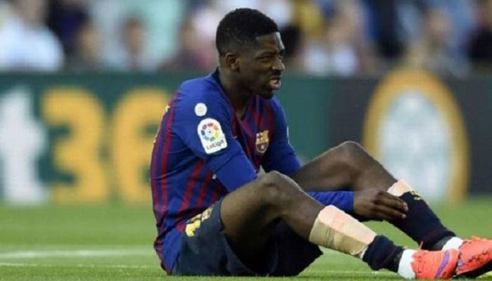 ديمبيلي يزيد من متاعب برشلونة