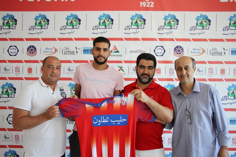 بلعروسي يجدد عقده مع المغرب التطواني