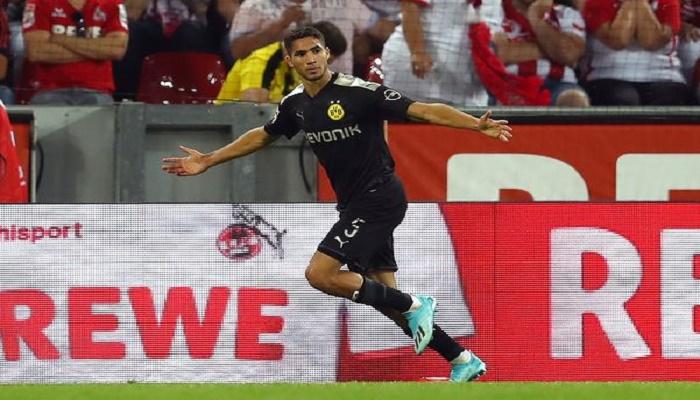 حكيمي يحرز أول هدف بالدوري الألماني