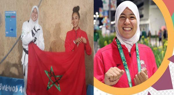 أبو فراس  تحرز ذهبية للمغرب بالألعاب الإفريقية