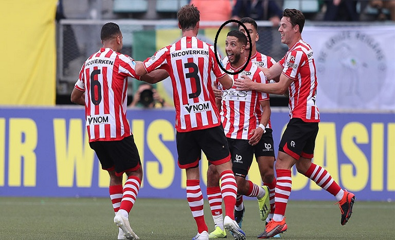 الرياحي يمنح أول فوز لسبارطا روتردام الهولندي