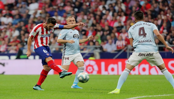 الأتلتيكو يتعادل مع سيلتا فيغو بالدوري الإسباني