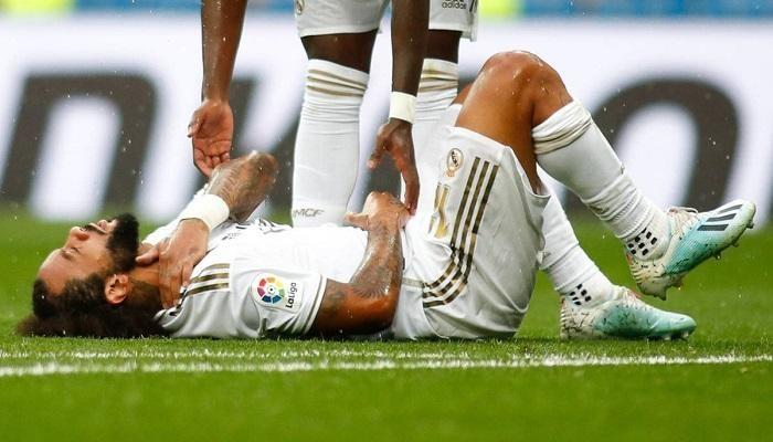 مارسيلو يلتحق بقائمة لاعبي الريال المصابين
