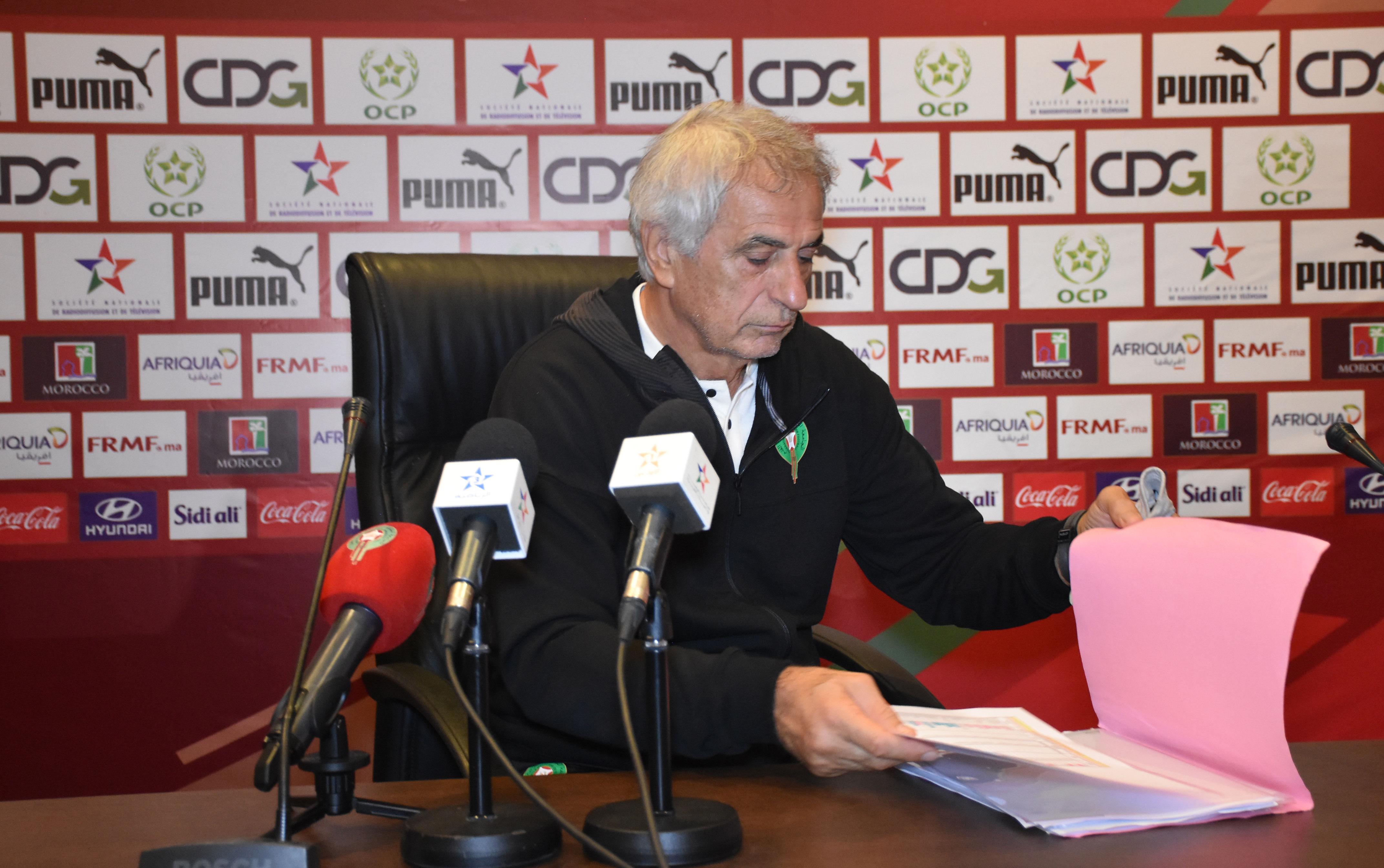 هاليلودزيتش يكشف أهدافه مع الأسود ويعترف بقوة المنافسين