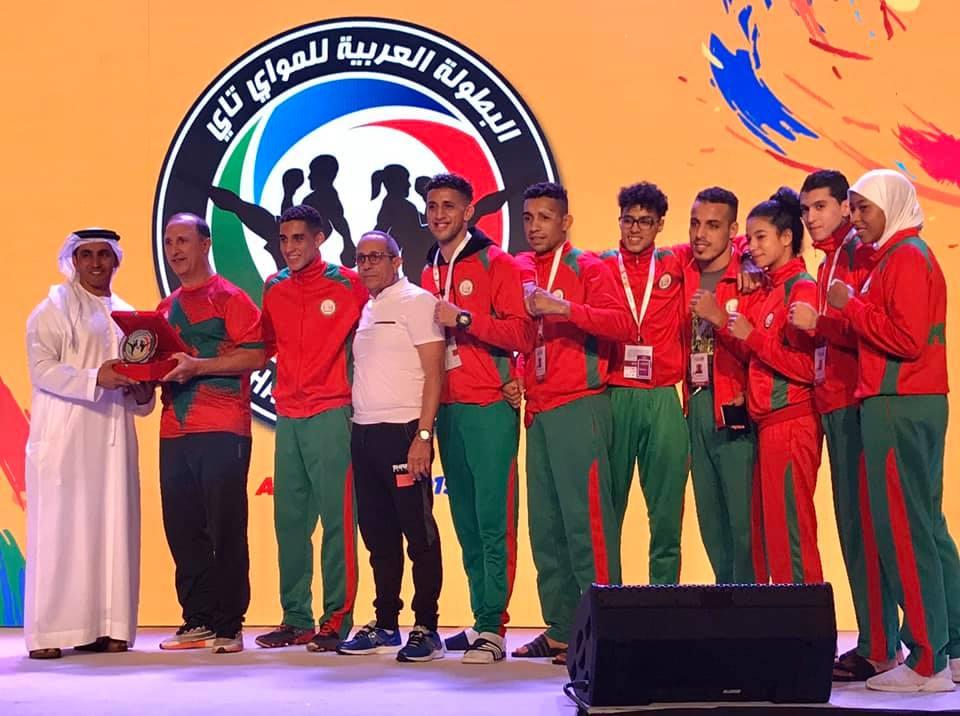 منتخب المواي طاي يتوج بلقب البطولة العربية