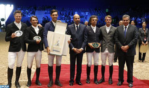 توركيتو يتوج بجائزة صاحب جلالة الملك محمد السادس  في احتتام معرض الفرس